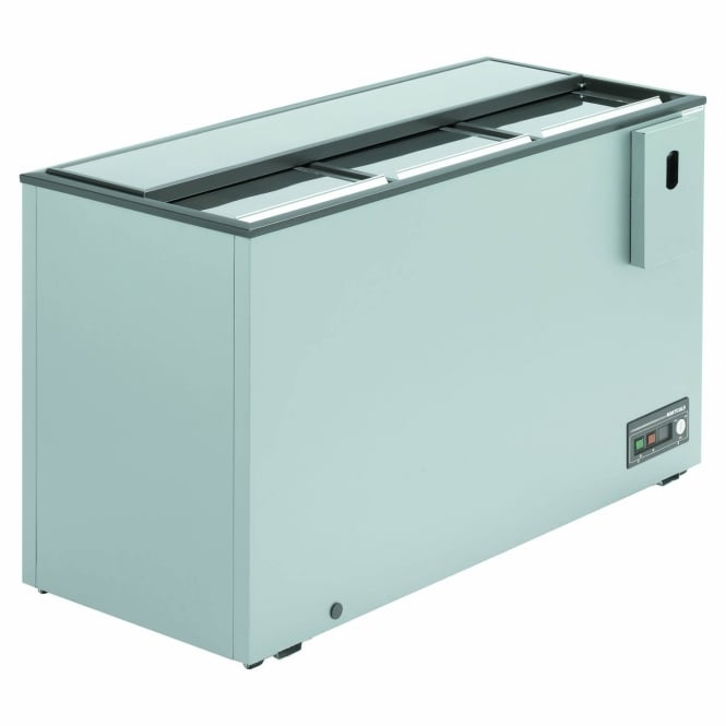 Arcaboa ALFA1400 - Alfa Range Sliding Top Bottle Cooler Grey Sliding Lid