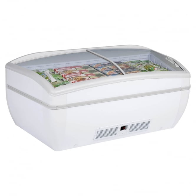 Arcaboa PANORAMICA HC - Panoramica Range High Vision Freezer White Manual Defrost
