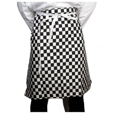 Waist Apron Black & White