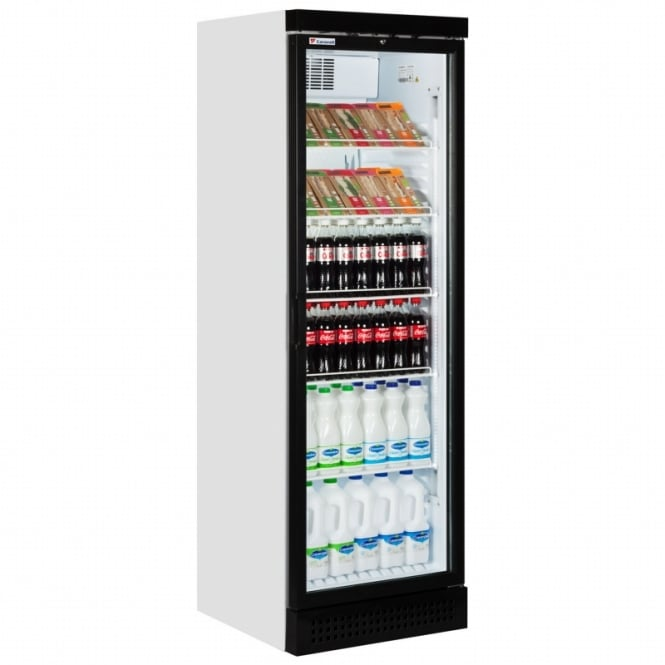 Caravell CBC382 LED Glass Door Merchandiser
