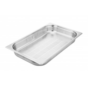 8 Litre Deep Stainless Steel Container /& Lids Zodiac Gastronorm 1//3 200MM
