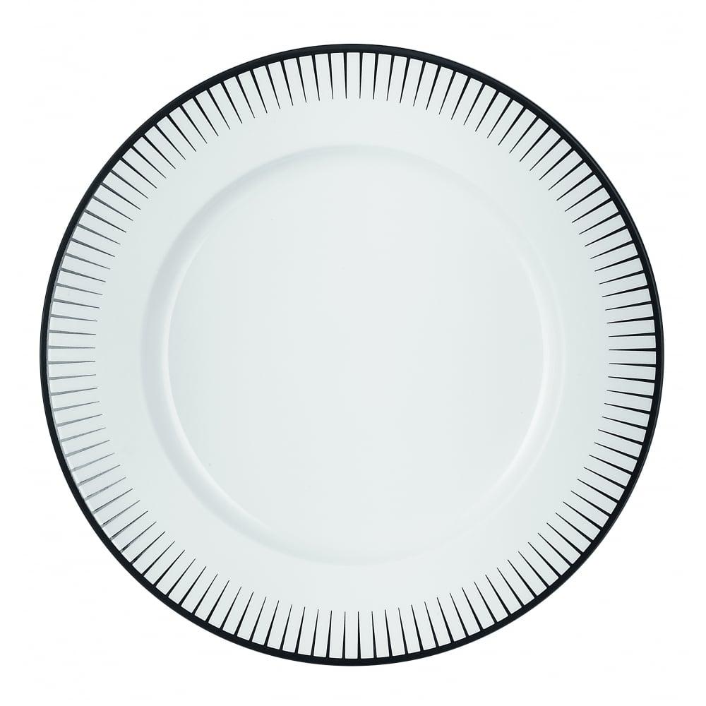 chef sommelier ginseng black dinner plate 285mm box of 24