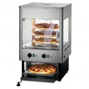 Upright Merchandisers with Oven