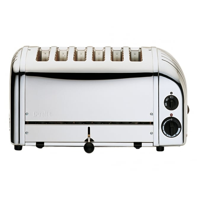 Dualit 60144 6 Slice Stainless Steel Toaster