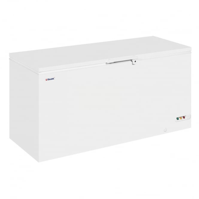 Elcold EL61 - Solid Lid Chest Freezer White