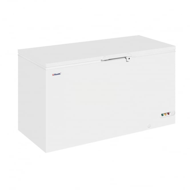 Elcold EL53 - Solid Lid Chest Freezer White