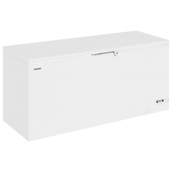 Elcold EL71 - Solid Lid Chest Freezer White