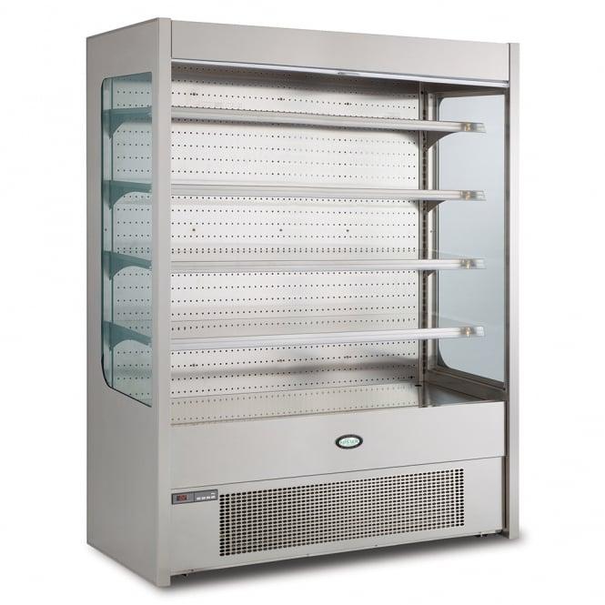 Foster FMPRO1500NG 1500mm Pro multideck with nightblind and glass end panels
