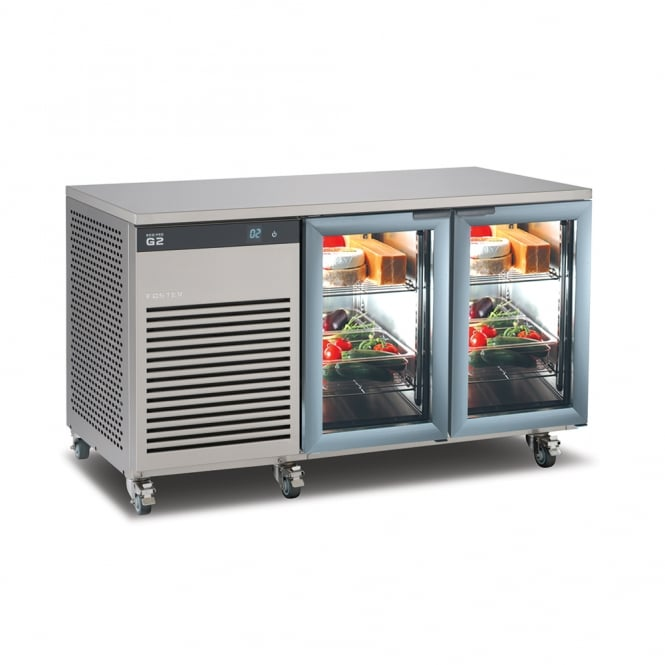 Foster EP1/2G EcoPro G2 1/2 Refrigerated Glass Door Counter