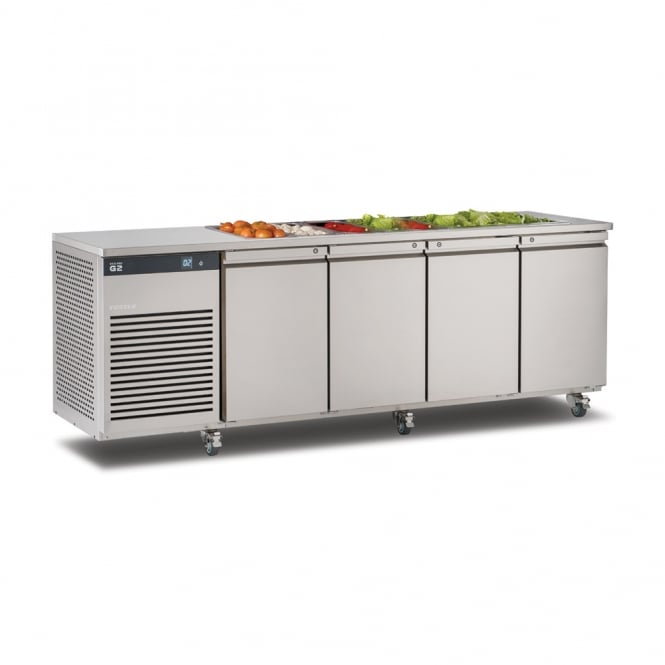 Foster EP1/4H EcoPro G2 1/4 Refrigerated Counter with Saladette Cut Out