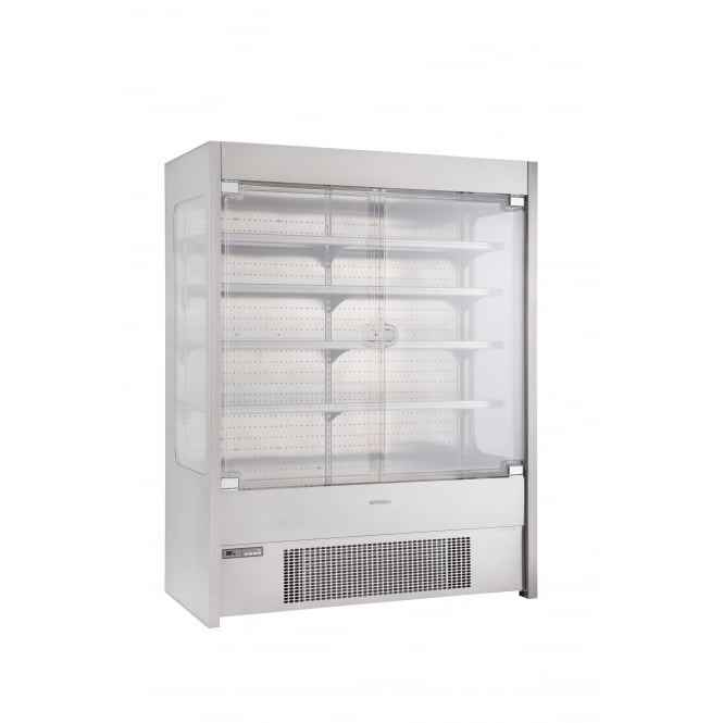 Foster FMPRO1500NG 1500mm Pro multideck with fully frameless acrylic doors