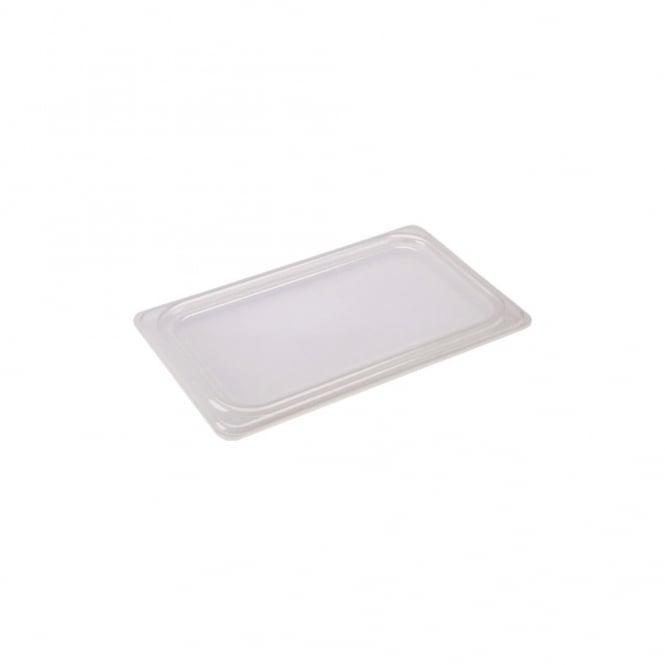 1/2 Polypropylene GN Lid Clear, Genware, Polypropylene