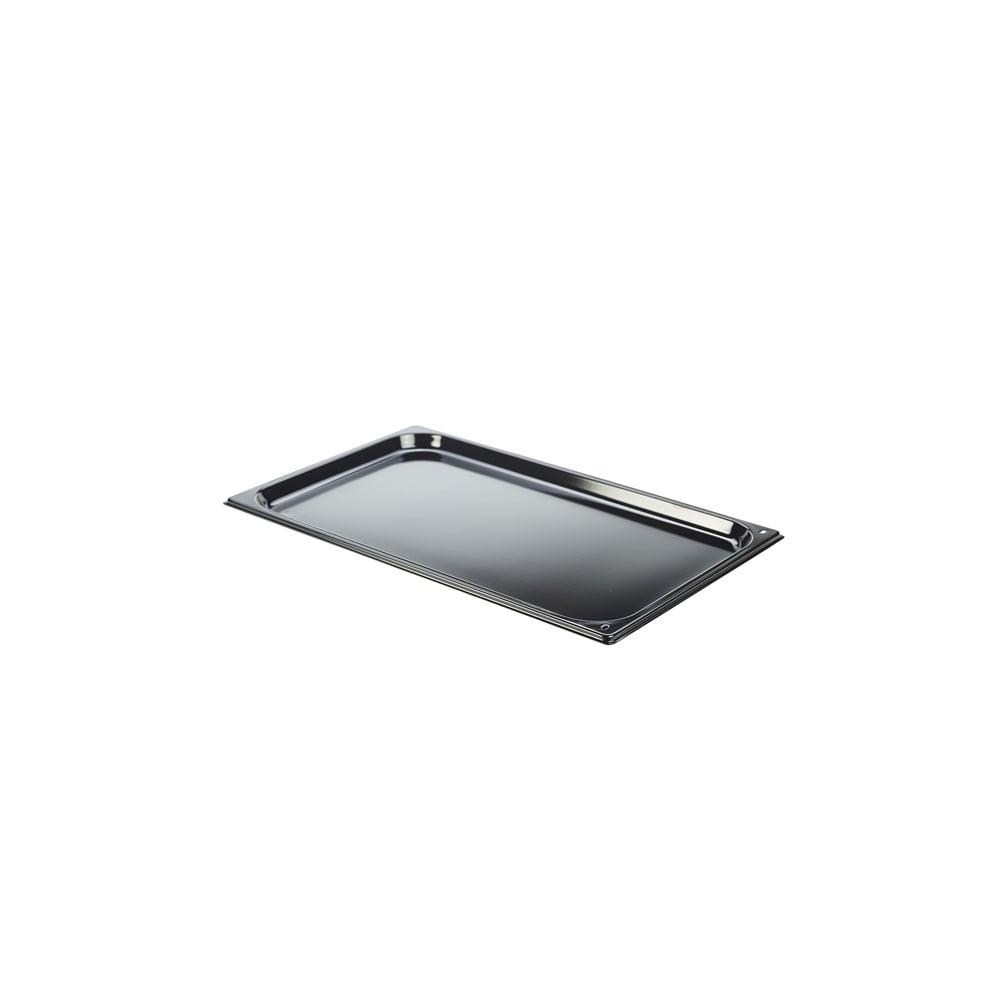 genware enamel baking tray gn 1 1 kitchenware utensils. Black Bedroom Furniture Sets. Home Design Ideas