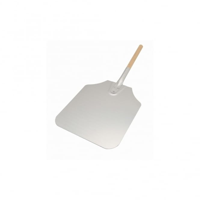 Genware Pizza Peel Wood Handle 10X11