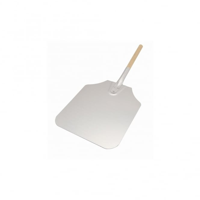 Genware Pizza Peel Wood Handle 12x14