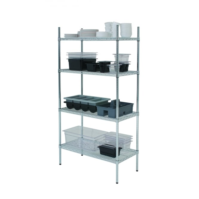 Genware Racking 4 Tier 48