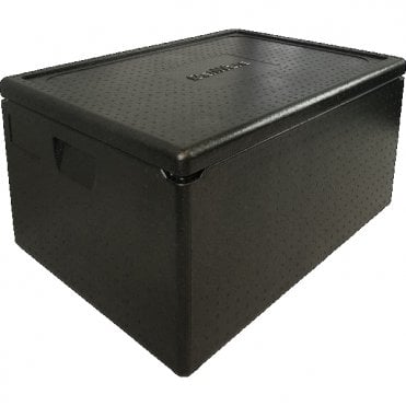Genware Black Anti-Slip Buffet Riser 18 x 18cm | Turner Price