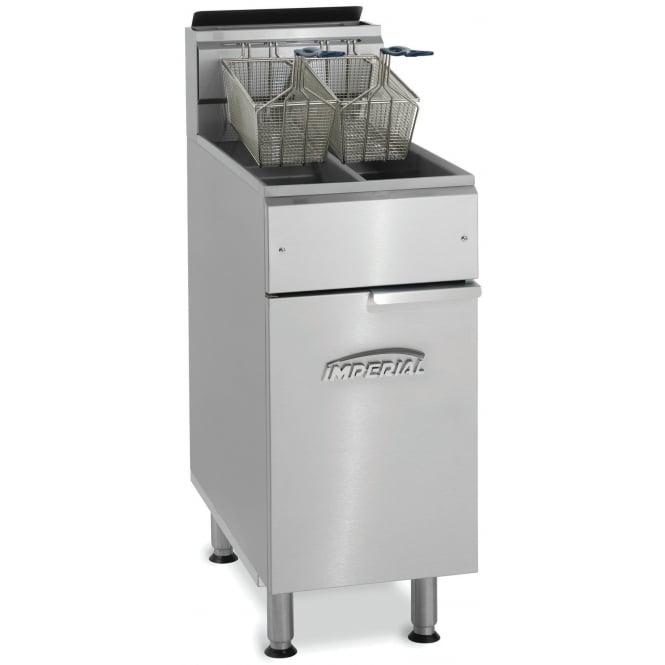 Imperial Twin Tank Twin Basket Gas Fryer IFS-2525