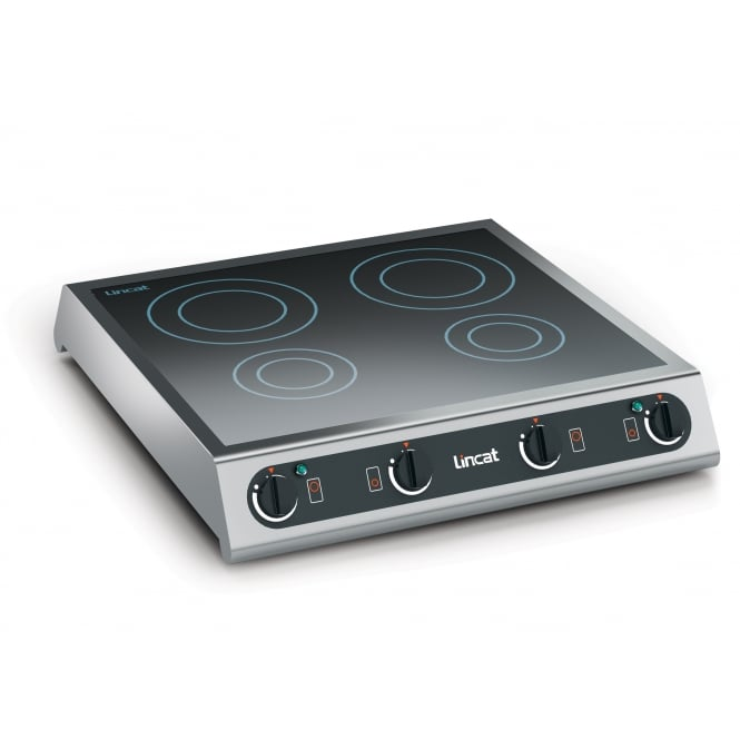 Lincat IH42 Induction Induction Hob four zone electric 2 x 3 kW