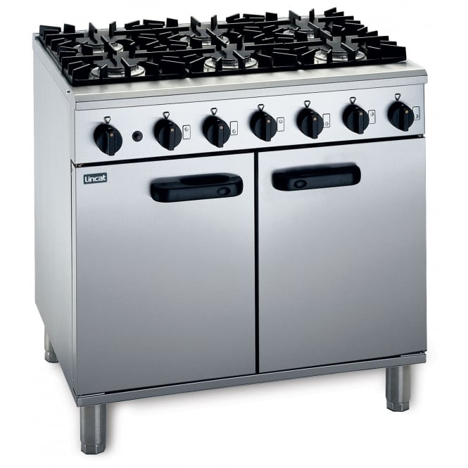 Lincat LMR9/N Medium Duty Ovens and Ranges 6 Burner Range gas (Natural) 35 kW