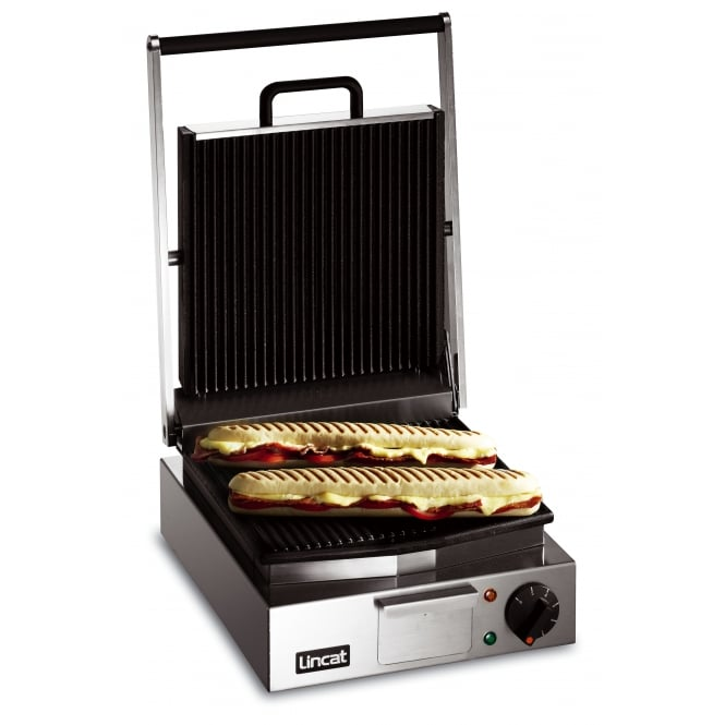 Lincat LPG Lynx 400 Panini Grill Single - ribbed top and bottom