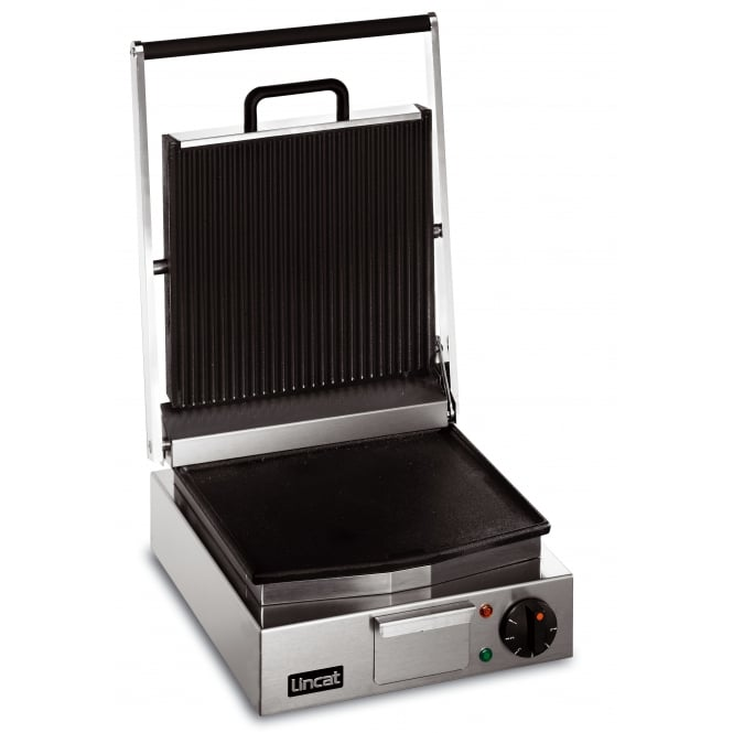 Lincat LRG Lynx 400 Ribbed Grill Single - ribbed top, smooth bottom