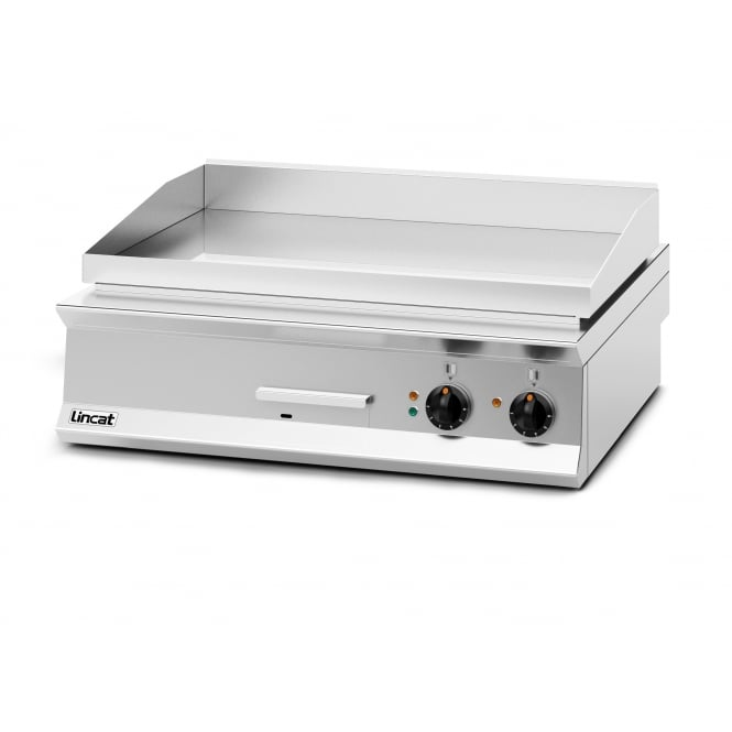 Lincat OE8206/C Opus 800 Griddle chrome plate Chrome Plate - Dual Zone electric 12kw