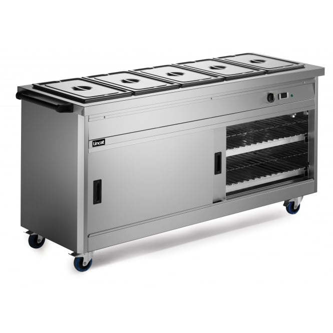 Lincat P6B5 Panther 670 Series Hot Cupboard - Bain Marie Top