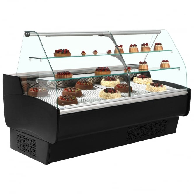 Frilixa MAXIME 10C PASTRY BK - Maxime Pastry Range Serve Over Counter for Patisserie Black