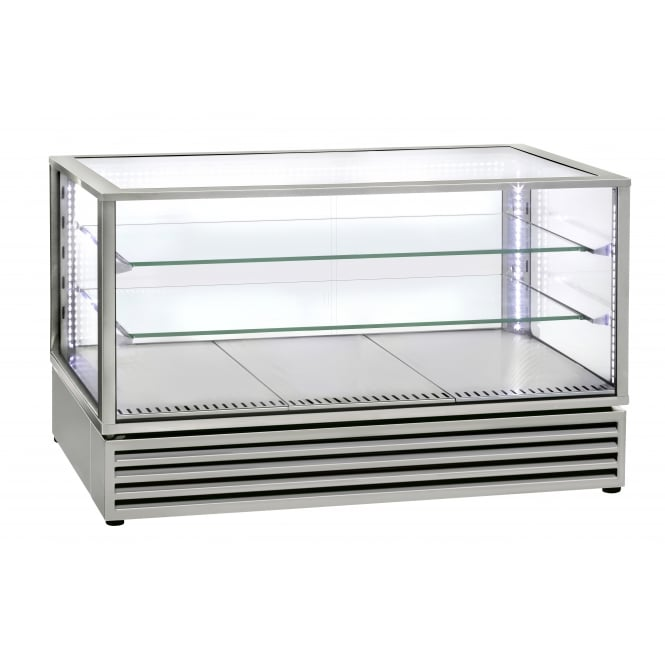Rollergrill CD1200 Stainless Steel Horizontal refrigerated display