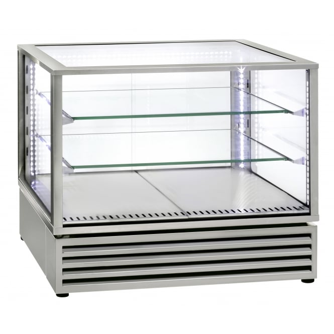 Rollergrill CD800 Stainless Steel Horizontal refrigerated display