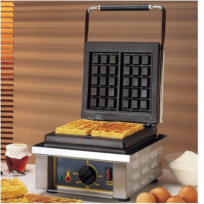Rollergrill GES10 Single Brussels Waffle Iron