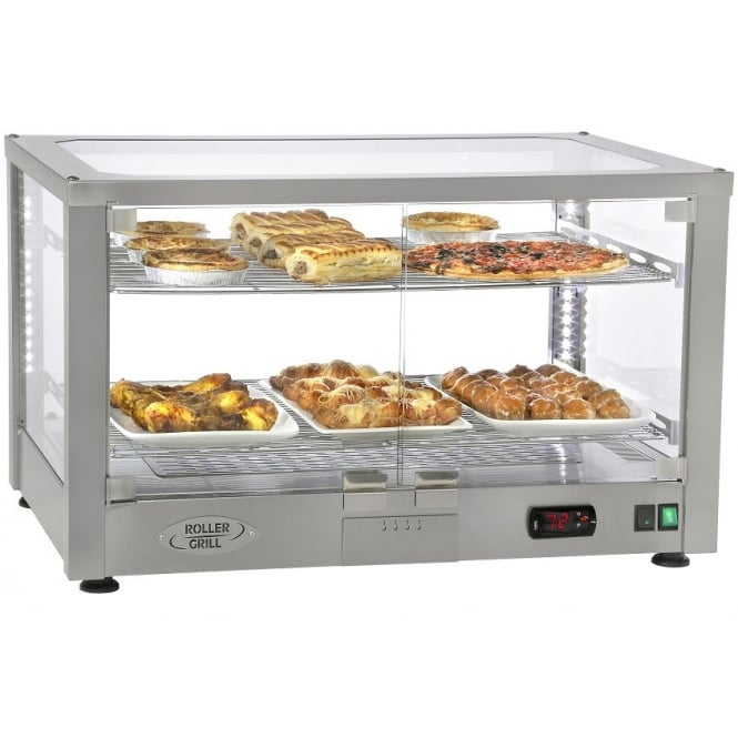Rollergrill WD780S Heated Display cabinet (Counter top)