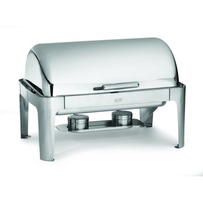 Tablecraft Chafing Servers Full Size Fuel Server Roll Top, Stainless Steel, 63.5x43x43cm, 6.5L