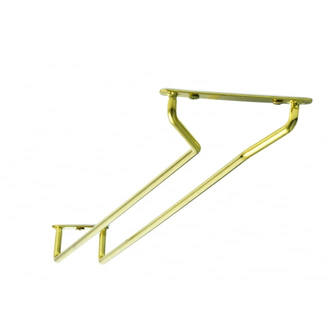 Tablecraft Glass Racks Brass Plated, 26cm