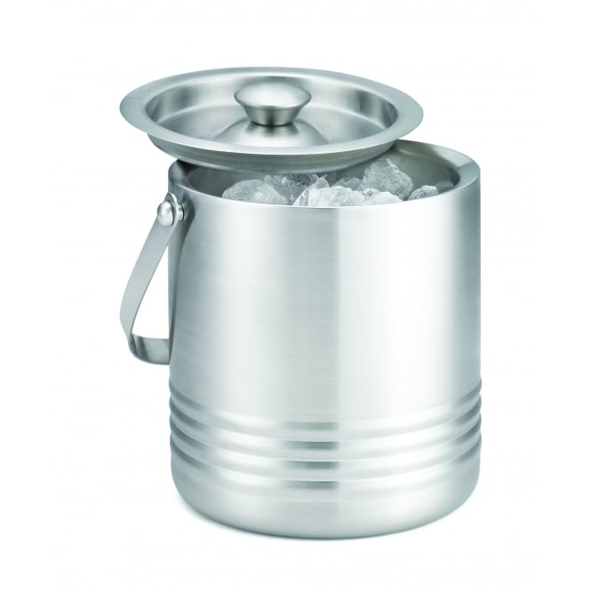 Tablecraft Ice Bucket, Double Wall, Stainless Steel, 18x15x16.5cm