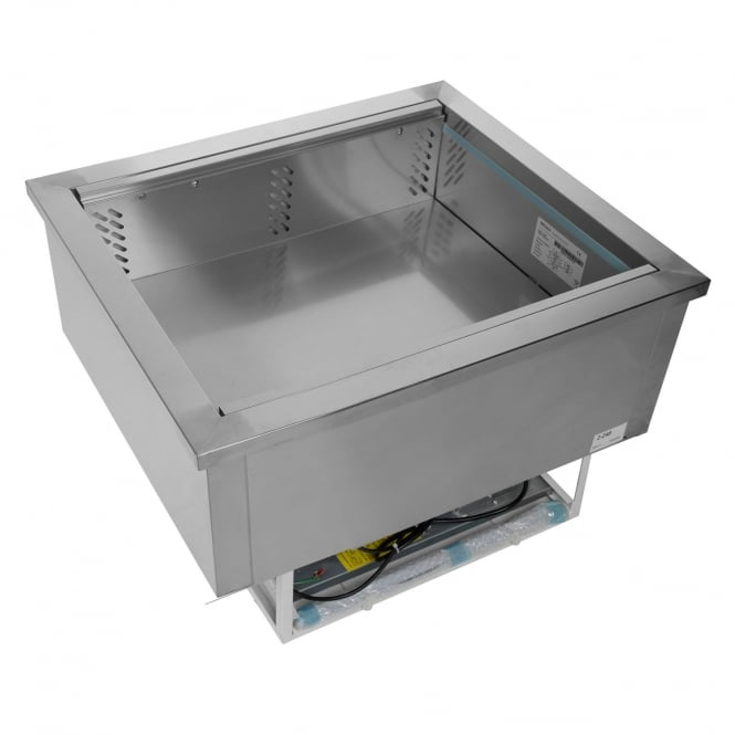 Tefcold CW2V - CWV Range Buffet Display Stainless Steel