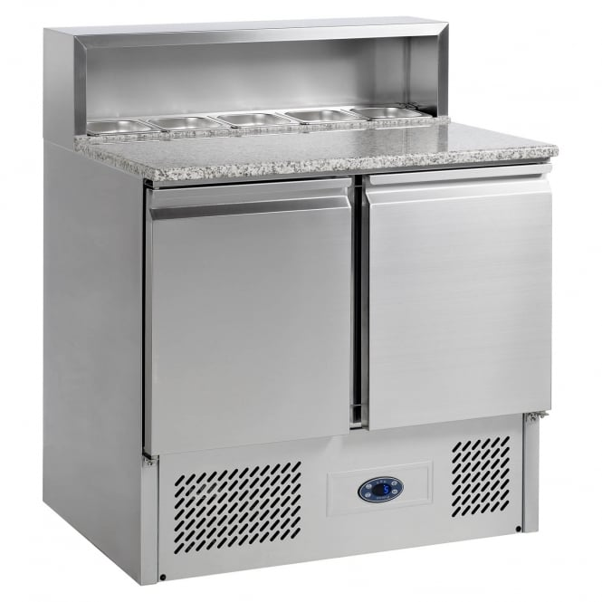 Tefcold Gastro-Line PT920 - Gastronorm Preparation Counter Stainless Steel