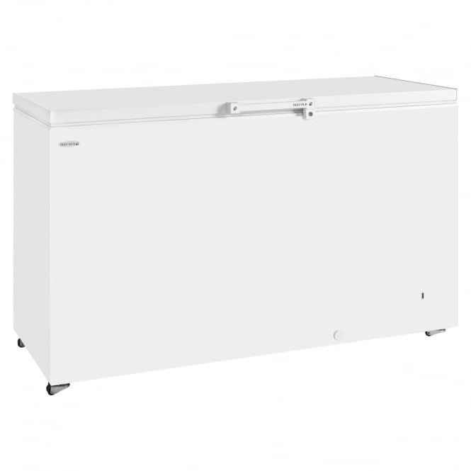 Tefcold GM500 - Solid Lid Chest Freezer White