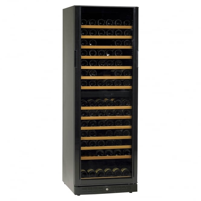 Tefcold TFW365-2 - TFW365-2 Wine Cooler Black Glass Door