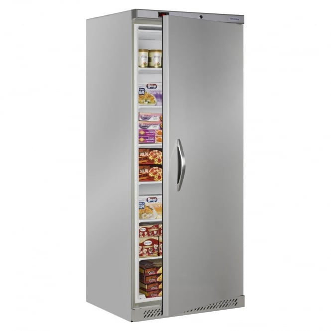 Tefcold UF600S - Upright Freezer Stainless Steel