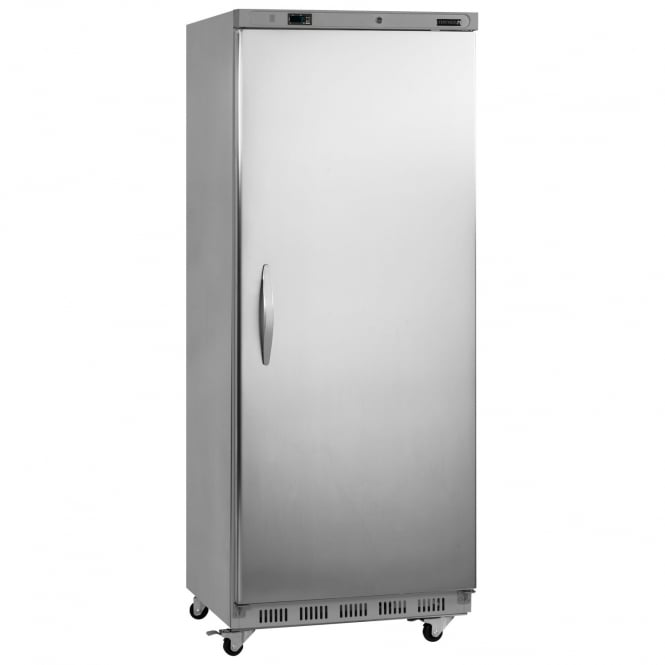 Tefcold UF700VS - Upright Freezer Stainless Steel