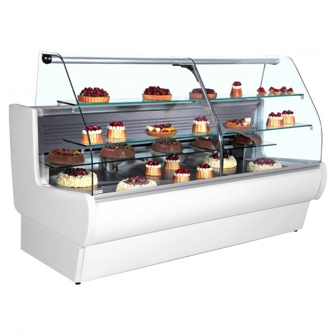 Frilixa TEJ II 20C - Tejo Range Serve Over Counter for Patisserie White