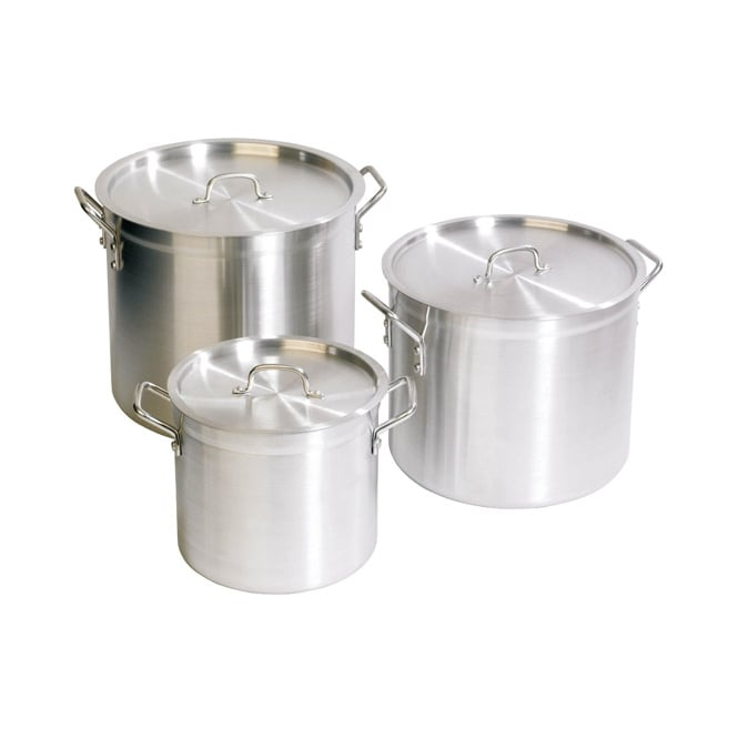 ZSP Aluminium Stockpot With Lid 30 Ltr